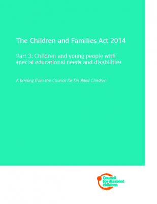 Children And Families Act Briefing by CDC