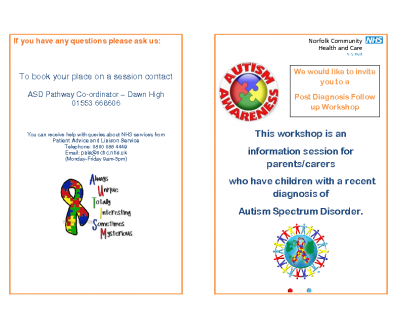 Post Diagnostic Follow-Up Session leaflet