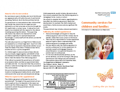 CPS Information Leaflet for Referrers