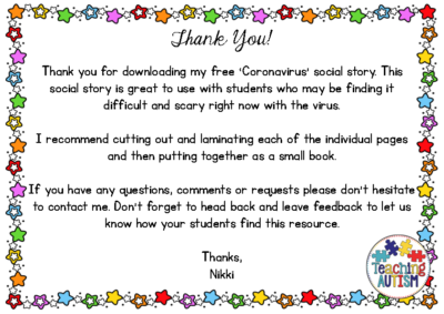 Coronavirus Social Narrative